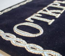 Для объемной машинной вышивки